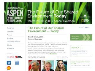 Aspen Environment Forum