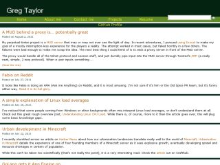 Greg Taylor's Site