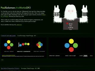 solomon71.com - Paul Solomon's web works