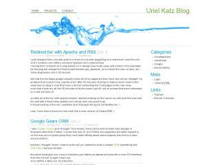 Uriel Katz Blog