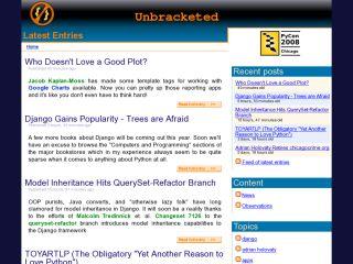 Unbracketed