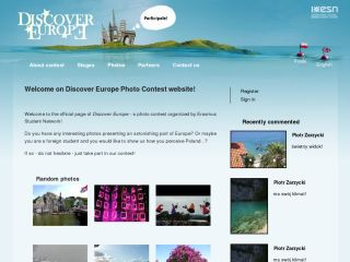 Discover Europe Photography Contest