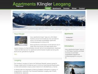 Apartments Klingler Leogang