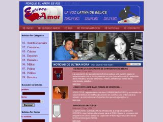 Estereo Amor - Online Spanish News from Belize