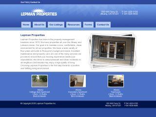 Lepman Properties