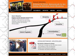 VCS Zürich – Schienen für Zürich