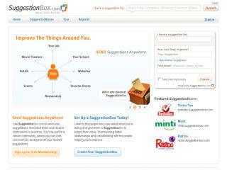SuggestionBox.com