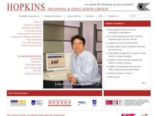 Hopkins Training & Education Group Hong Kong