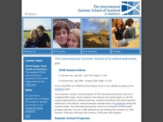International Summer School of Scotland