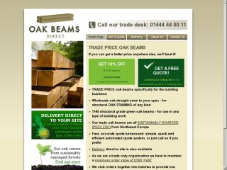 Oak Beams Direct