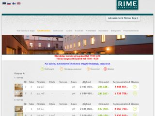 Real Estate auction for Rime Kinnisvara