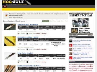 HOGCULT:Busse Combat INFI knives guide
