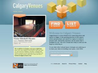 Calgary Venues