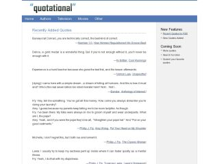 Quotational