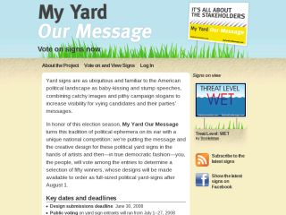 My Yard Our Message