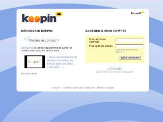 Keepin : service d'hébergement de listes de discussions