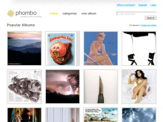 Phombo - Community Photo Albums