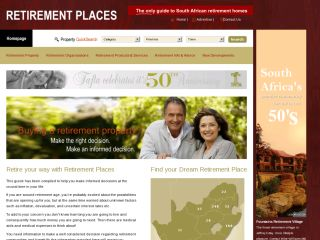Retirment Places - Real EstateSouth Africa
