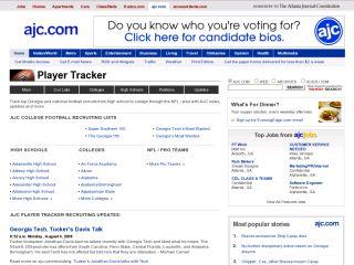 AJC Player Tracker
