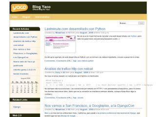Yaco Blog site