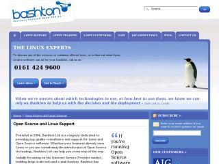 Bashton Linux Support