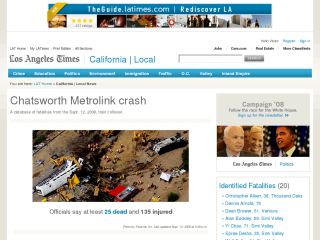 Chatsworth Metrolink crash