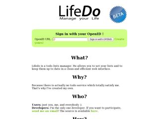 LifeDo