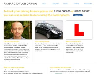 Richard Taylor Driving