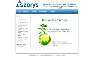 Web development in Malaga, azorys.