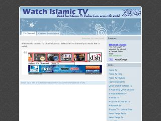 Watch Islamic TV