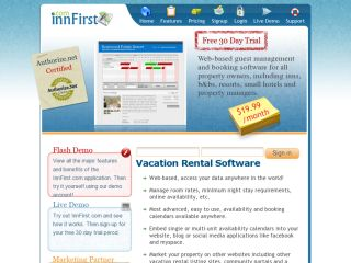 InnFirst.com - Vacation Rental Software