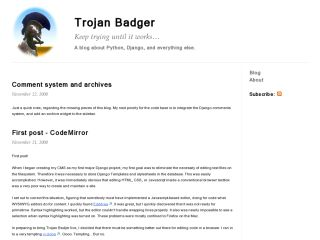 Trojan Badger