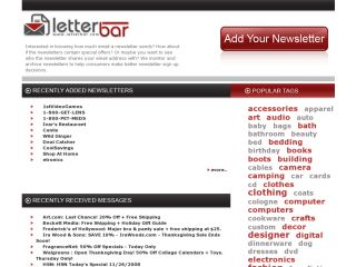 LetterBar- Email Newsletter Archive