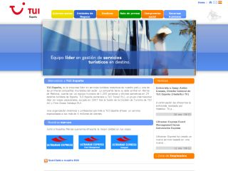 TUI España Corporate Site