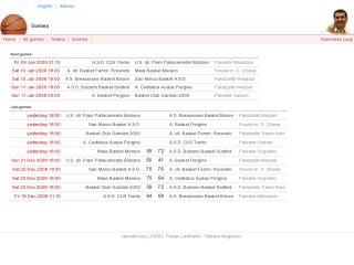 canestro - basketball scores