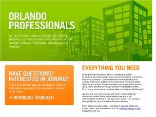 We are Orlando Professionals!