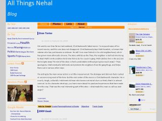 All Things Nehal