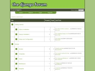 The Django Forum