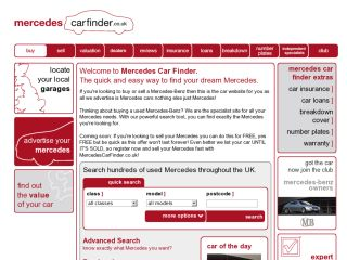 Mercedes Car Finder