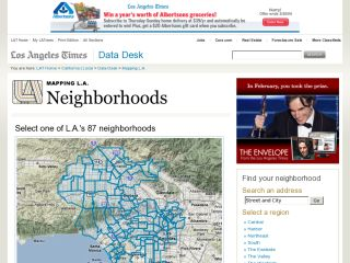 Mapping L.A.: Neighborhoods