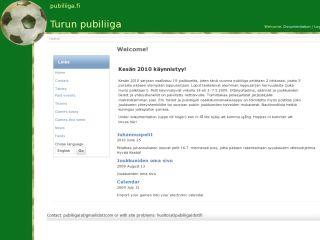 Pub league in Turku