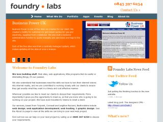 Foundry Labs Web Development