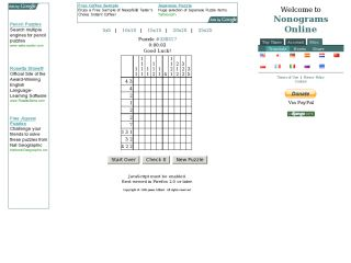 Nonograms Online
