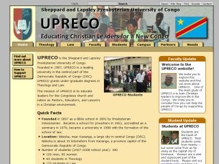 UPRECO - Sheppard and Lapsley University of Congo