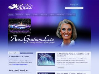 AnGel Ministries - Anne Graham Lotz