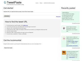 TweetPaste