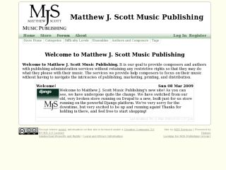 Matthew J. Scott Music Publishing