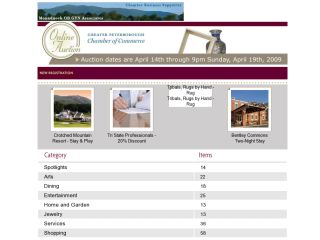 Greater Peterborough Chamber of Commerce Auction