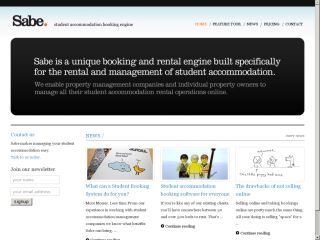 SABE - Student Accommodation Booking Engine