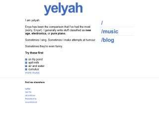 yelyah - music